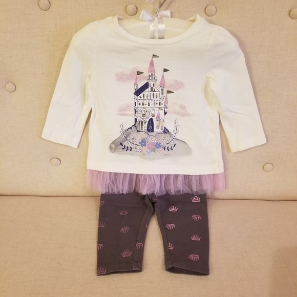 Gymboree Castle Princess Socks Girls Size 0-3 M NEW